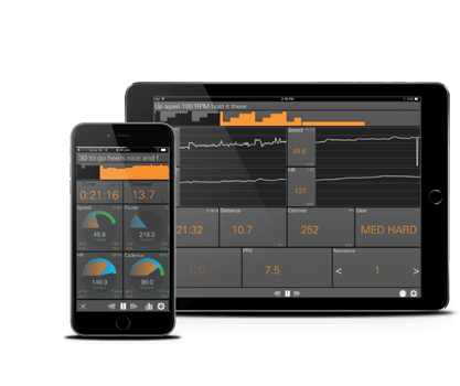 JetBlack Indoor Cycle Training App