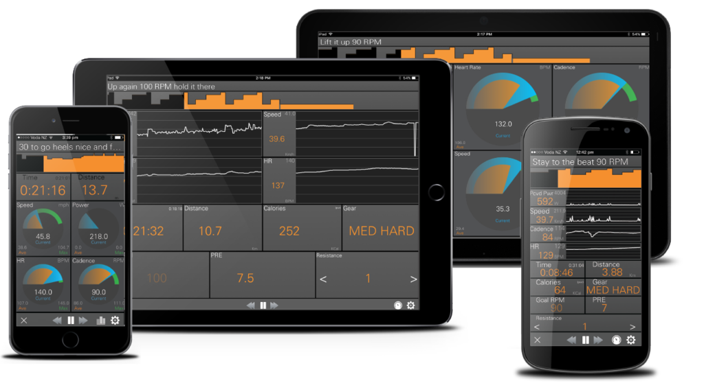 Train with the JetBlack Cycling trainer app
