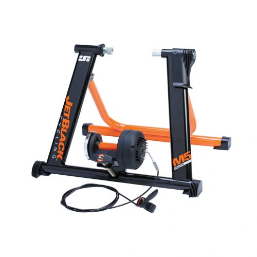 M5 Pro Magnetic Bike Trainer - JetBlack Cyling