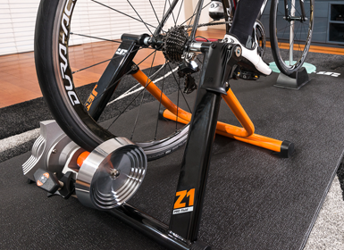 Z1 Pro Fluid Trainer Jetblack Cycling