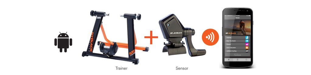 M5 bike trainer compatibility information - Android - JetBlack Cycling