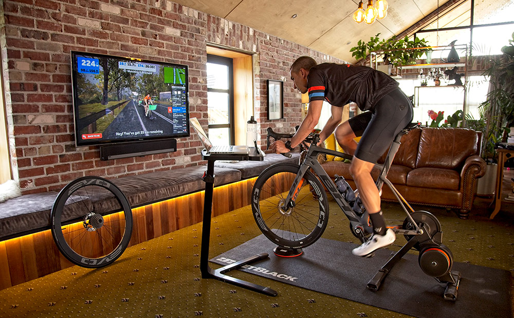 Volt bike trainer by JetBlack Cycling