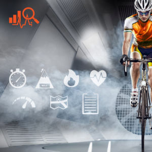 Traingin Data with JetBlack Cycling trainers
