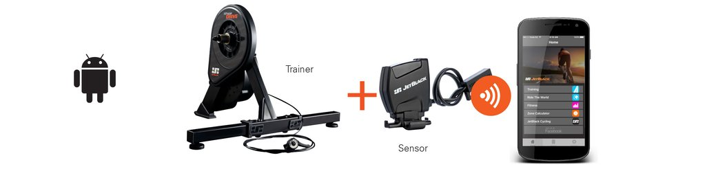 WhisperDrive bike trainer compatibility information - Android App - JetBlack Cycling