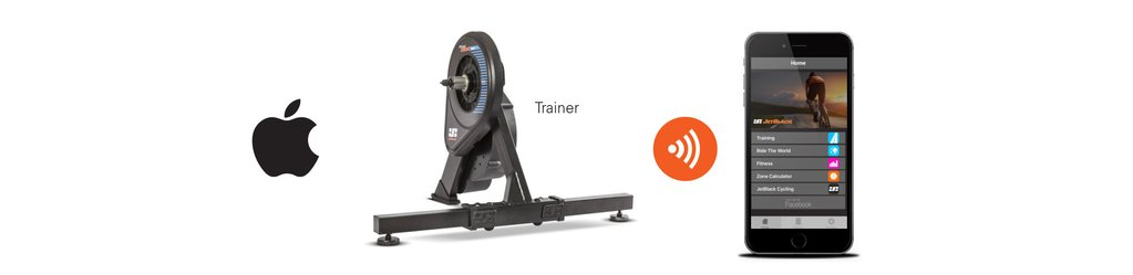 WhisperDrive Smart bike trainer compatibility information - Apple App - JetBlack Cycling